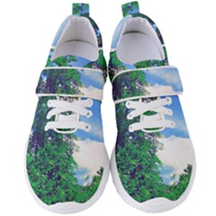 Drawing Of A Summer Day Women s Velcro Strap Shoes by Fractalsandkaleidoscopes