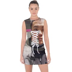 78427712 472508256710236 3582165134757330944 N Lace Up Front Bodycon Dress