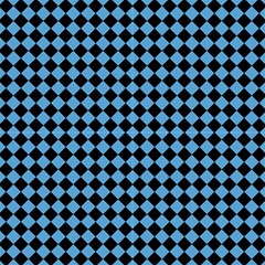 Block Fiesta Black And Carolina Blue Fabric by FashionLane