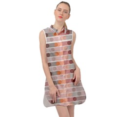 Zappwaits Sleeveless Shirt Dress