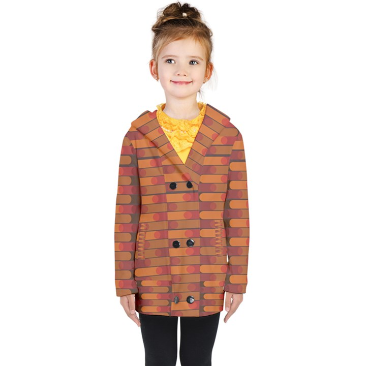 Zappwaits Zz Kids  Double Breasted Button Coat