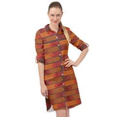 Zappwaits Zz Long Sleeve Mini Shirt Dress