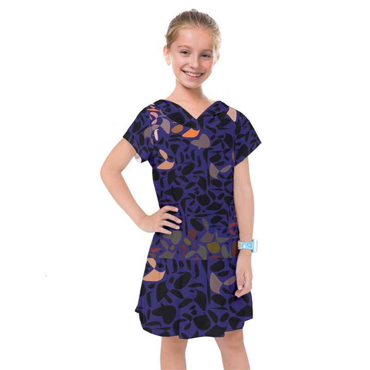 Zappwaits Kids  Drop Waist Dress