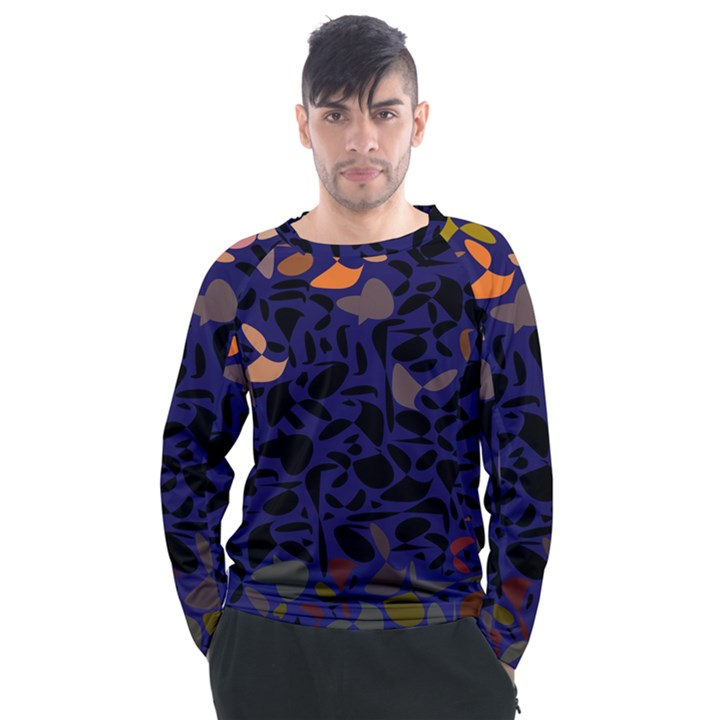 Zappwaits Men s Long Sleeve Raglan Tee