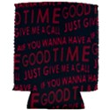 Motivational Phrase Motif Typographic Collage Pattern Can Holder View2