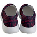 Motivational Phrase Motif Typographic Collage Pattern Men s Lightweight Slip Ons View4