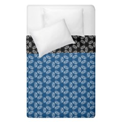 Classic Blue #4 + Bw #54duvet Cover Double Side (single Size)
