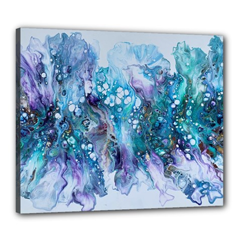 Sea Anemone  Canvas 24  X 20  (stretched)