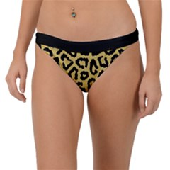 Ghepard Gold Band Bikini Bottom