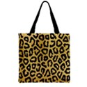 GHEPARD GOLD Zipper Grocery Tote Bag View1