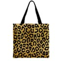 GHEPARD GOLD Zipper Grocery Tote Bag View2