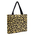 GHEPARD GOLD Zipper Medium Tote Bag View2
