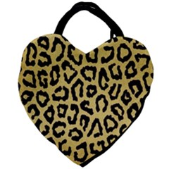 Ghepard Gold Giant Heart Shaped Tote