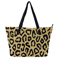 Ghepard Gold Full Print Shoulder Bag