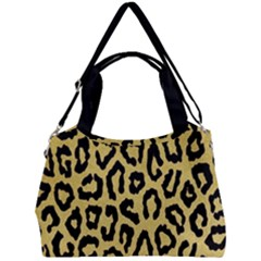 Ghepard Gold Double Compartment Shoulder Bag