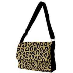 Ghepard Gold Full Print Messenger Bag (l)
