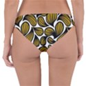 GOLD LEAVES Reversible Hipster Bikini Bottoms View2