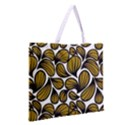 GOLD LEAVES Zipper Large Tote Bag View2
