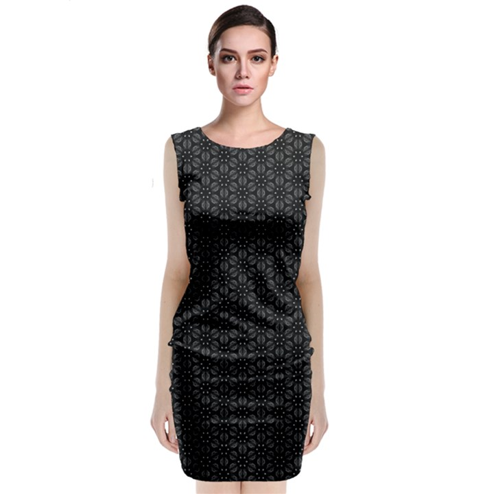Kettukas BW #50 Classic Sleeveless Midi Dress