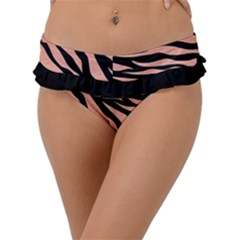 Tiger Rose Gold Frill Bikini Bottom