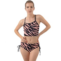 Tiger Rose Gold Mini Tank Bikini Set