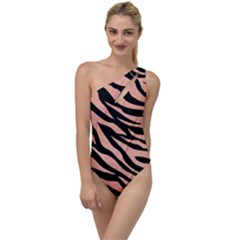 Tiger Rose Gold To One Side Swimsuit