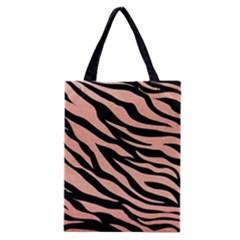 Tiger Rose Gold Classic Tote Bag