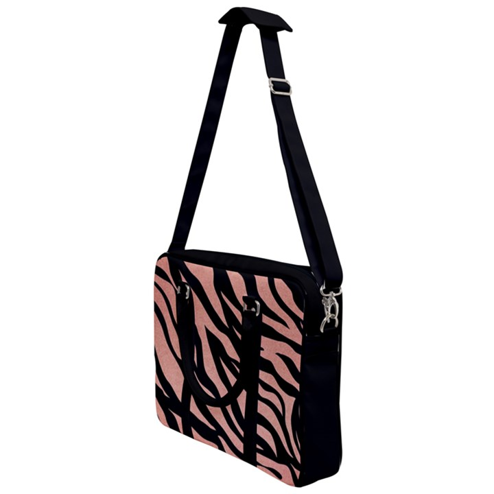 TIGER ROSE GOLD Cross Body Office Bag