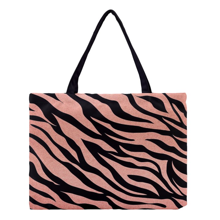 TIGER ROSE GOLD Medium Tote Bag