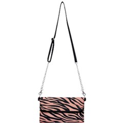 Tiger Rose Gold Mini Crossbody Handbag