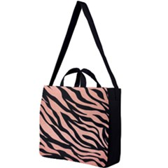 Tiger Rose Gold Square Shoulder Tote Bag