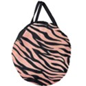 TIGER ROSE GOLD Giant Round Zipper Tote View1