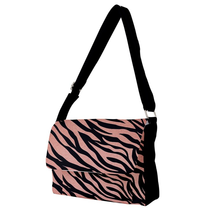 TIGER ROSE GOLD Full Print Messenger Bag (S)