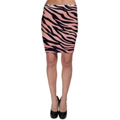 Tiger Rose Gold Bodycon Skirt