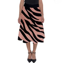 Tiger Rose Gold Perfect Length Midi Skirt