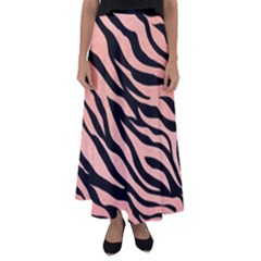 Tiger Rose Gold Flared Maxi Skirt
