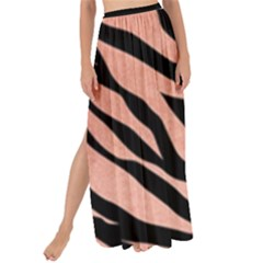 Tiger Rose Gold Maxi Chiffon Tie-up Sarong