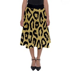 Ghepard Gold Perfect Length Midi Skirt