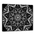Black And White Pattern Canvas 24  x 20  (Stretched) View1