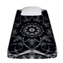 Black And White Pattern Fitted Sheet (Single Size) View1