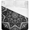 Black And White Pattern Duvet Cover (King Size) View1