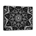 Black And White Pattern Canvas 10  x 8  (Stretched) View1
