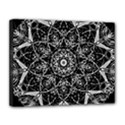 Black And White Pattern Canvas 14  x 11  (Stretched) View1
