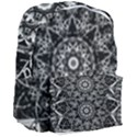 Black And White Pattern Giant Full Print Backpack View3