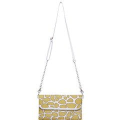 Maculato Gold Mini Crossbody Handbag