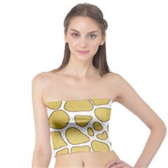 Maculato Gold Tube Top