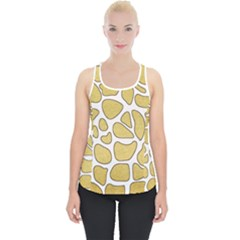 Maculato Gold Piece Up Tank Top