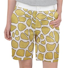 Maculato Gold Pocket Shorts