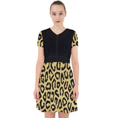 Ghepard Gold  Adorable In Chiffon Dress