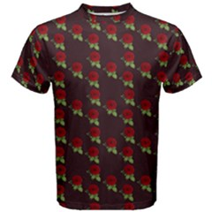 Rose Maroon Men s Cotton Tee